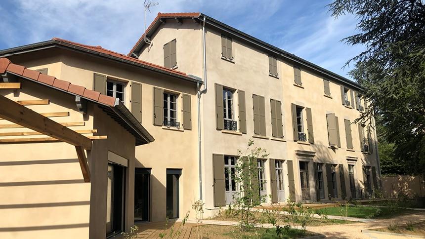 Programme immobilier l'Intemporel à Saint-Genis-Laval par R2i