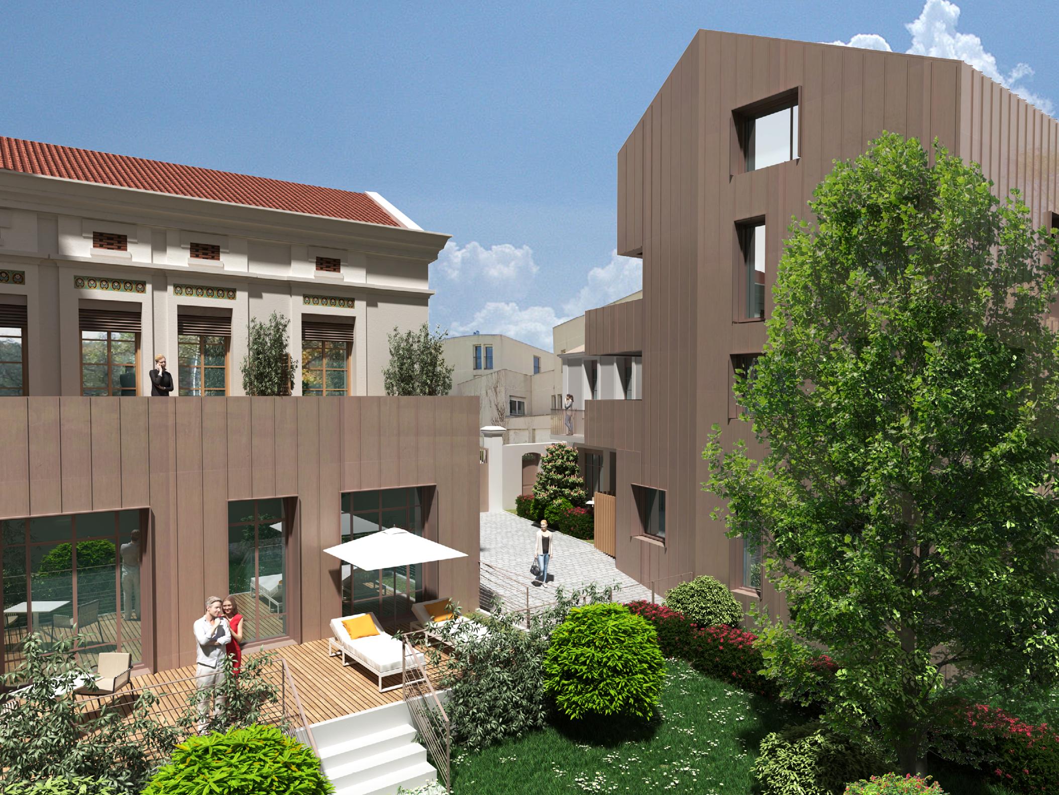 Future résidence au charme intimiste à Lyon 7
