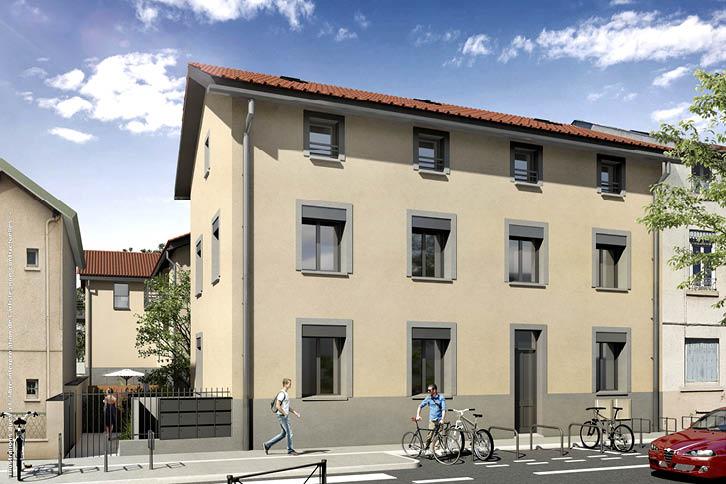Programme immobilier Alliance à Lyon 8 par R2i